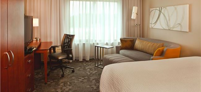 Courtyard by Marriott Gettysburg- king Room