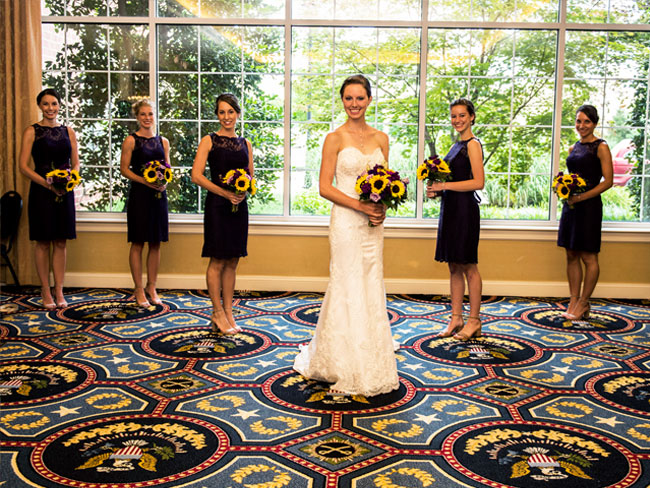Traditional Weddings at Wyndham Gettysburg Hotel, Pennsylvania
